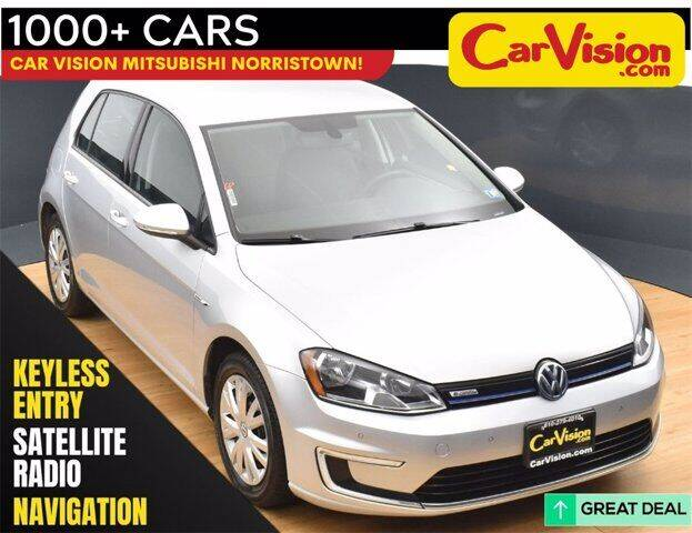 2015 Volkswagen e-Golf for sale in Norristown, PA