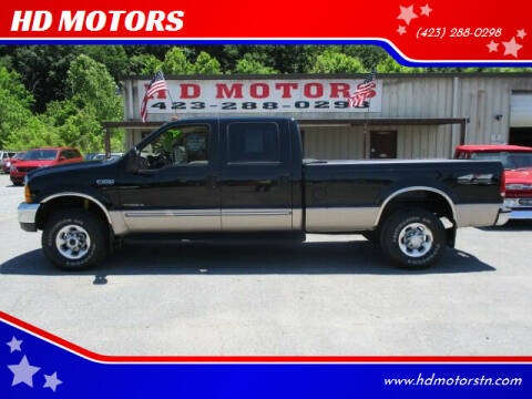 1999 Ford F-250 Super Duty for sale at HD MOTORS in Kingsport TN