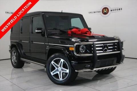 2010 Mercedes-Benz G-Class for sale at INDY'S UNLIMITED MOTORS - UNLIMITED MOTORS in Westfield IN