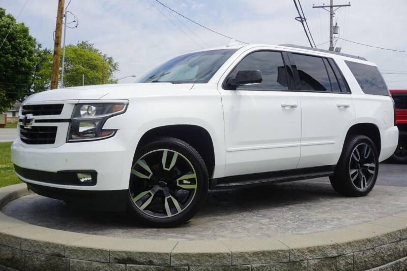 2018 Chevrolet Tahoe for sale at Platinum Motors LLC in Heath OH