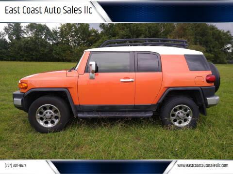 2013 Toyota FJ Cruiser for sale at East Coast Auto Sales llc in Virginia Beach VA