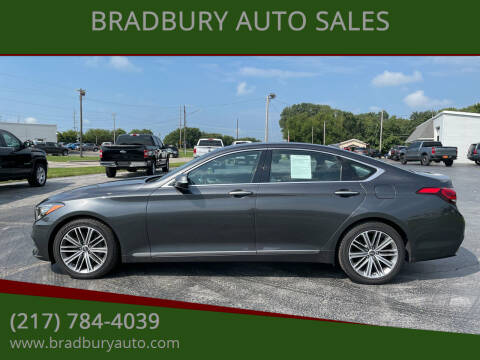 2018 Genesis G80 for sale at BRADBURY AUTO SALES in Gibson City IL