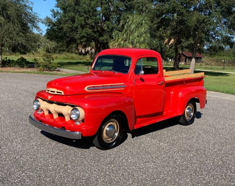 1951 Ford F1 Pickup for sale at P J'S AUTO WORLD-CLASSICS in Clearwater FL