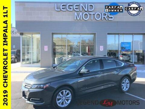 2019 Chevrolet Impala for sale at Legend Motors of Waterford in Waterford MI