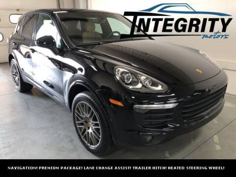 2018 Porsche Cayenne for sale at Integrity Motors, Inc. in Fond Du Lac WI