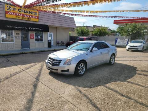 2009 Cadillac CTS for sale at 2nd Chance Auto Sales in Montgomery AL