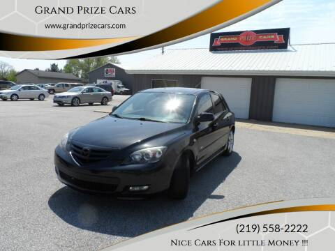 2008 Mazda MAZDA3 for sale at Grand Prize Cars in Cedar Lake IN