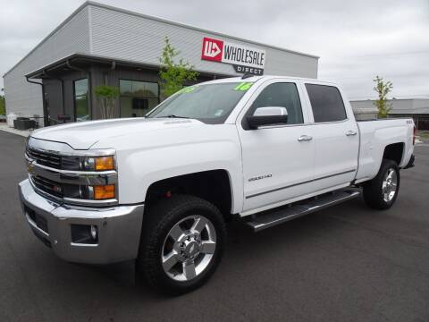 2016 Chevrolet Silverado 2500HD for sale at Wholesale Direct in Wilmington NC