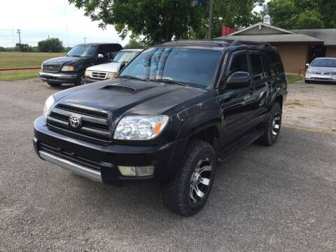 2005 Toyota 4Runner for sale at John 3:16 Motors in San Antonio TX