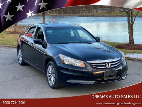 2012 Honda Accord for sale at Dreams Auto Sales LLC in Leesburg VA