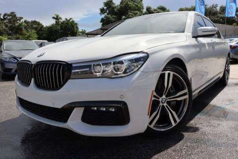 2018 BMW 7 Series for sale at OCEAN AUTO SALES in Miami FL