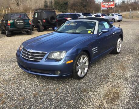 2005 Chrysler Crossfire for sale at Arden Auto Outlet in Arden NC