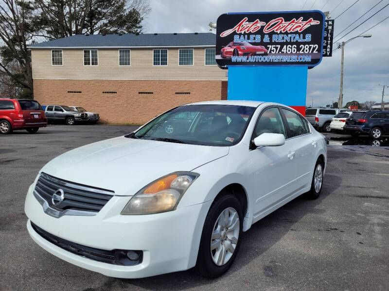 2009 Nissan Altima for sale at Auto Outlet Sales and Rentals in Norfolk VA
