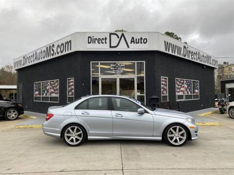 2013 Mercedes-Benz C-Class for sale at Direct Auto in D'Iberville MS