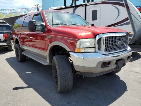 2001 Ford Excursion for sale at DPM Motorcars in Albuquerque NM