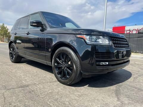 2016 Land Rover Range Rover for sale at Boktor Motors in Las Vegas NV