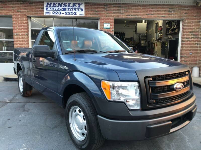 2014 Ford F-150 for sale at Hensley Auto Sales in Frankfort KY