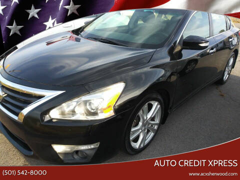 2013 Nissan Altima for sale at Auto Credit Xpress in North Little Rock AR