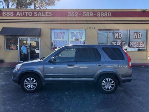 2006 Honda CR-V for sale at BSS AUTO SALES INC in Eustis FL
