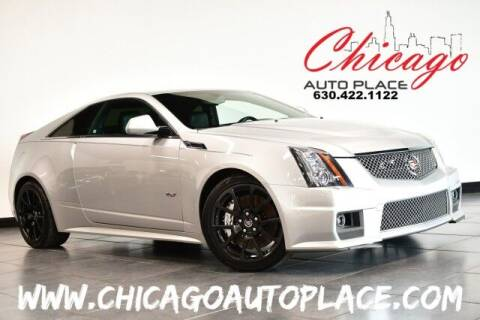 2014 Cadillac CTS-V for sale at Chicago Auto Place in Bensenville IL