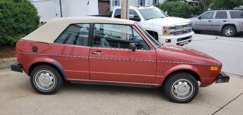 1982 Volkswagen Rabbit for sale at Carroll Street Auto in Manchester NH