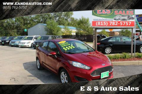 2014 Ford Fiesta for sale at E & S Auto Sales in Crest Hill IL