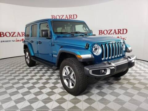 2020 Jeep Wrangler Unlimited for sale at BOZARD FORD in Saint Augustine FL