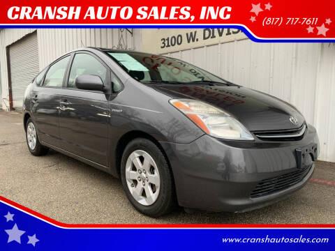 2008 Toyota Prius for sale at CRANSH AUTO SALES, INC in Arlington TX