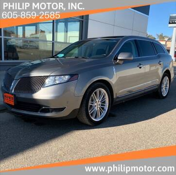 2015 Lincoln MKT for sale at Philip Motor Inc in Philip SD