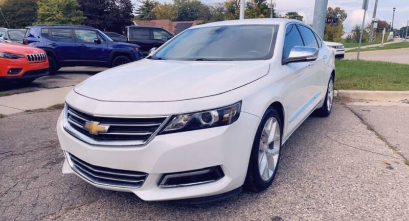 2017 Chevrolet Impala for sale at One Price Auto in Mount Clemens MI