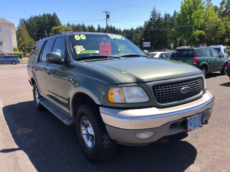 2000 Ford Expedition for sale at Freeborn Motors in Lafayette, OR