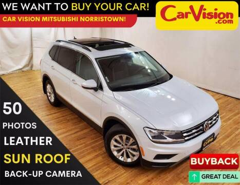 2018 Volkswagen Tiguan for sale at Car Vision Mitsubishi Norristown in Trooper PA