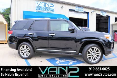 2010 Toyota 4Runner for sale at Van 2 Auto Sales Inc in Siler City NC