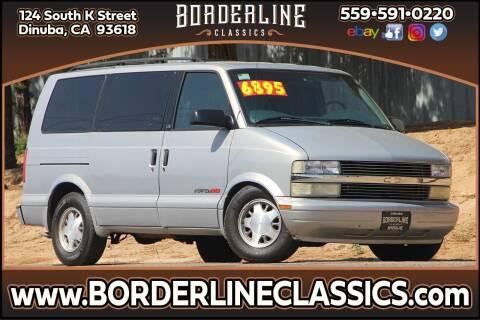 1998 Chevrolet Astro for sale at Borderline Classics in Dinuba CA