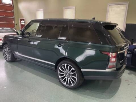 2016 Land Rover Range Rover for sale at Classic Cars of Palm Beach in Jupiter FL