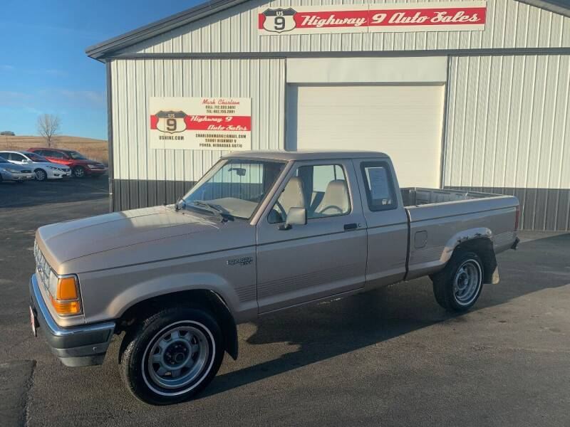 1992 Ford Ranger for sale at Highway 9 Auto Sales - Visit us at usnine.com in Ponca NE
