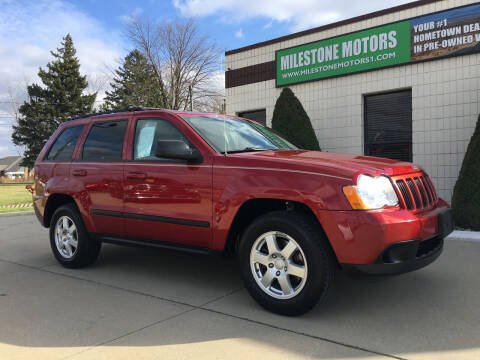 2009 Jeep Grand Cherokee for sale at MILESTONE MOTORS in Chesterfield MI