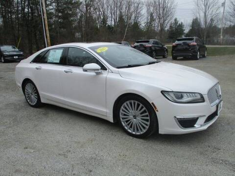 2017 Lincoln MKZ for sale at MC FARLAND FORD in Exeter NH