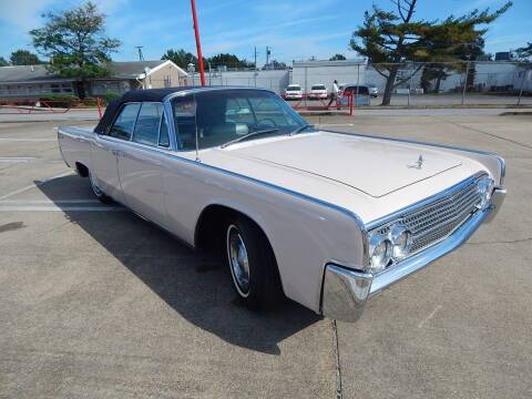 1963 Lincoln Continental for sale at Vail Automotive in Norfolk VA