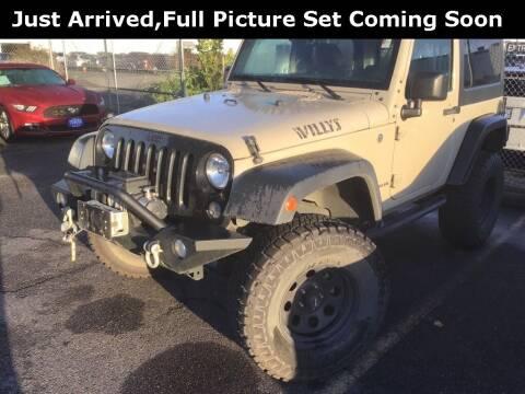 2017 Jeep Wrangler for sale at Royal Moore Custom Finance in Hillsboro OR