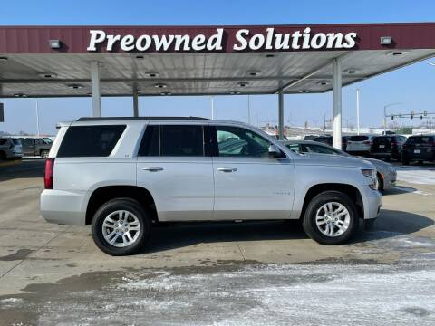 2018 Chevrolet Tahoe for sale at Preowned Solutions in Urbandale IA