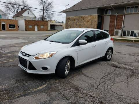 2013 Ford Focus for sale at USA AUTO WHOLESALE LLC in Cleveland OH