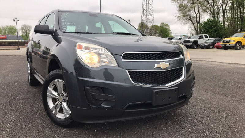 2010 Chevrolet Equinox for sale at Drapers Auto Sales in Peru IN