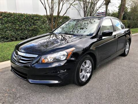 2012 Honda Accord for sale at DENMARK AUTO BROKERS in Riviera Beach FL