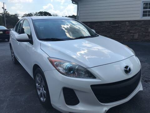 2013 Mazda MAZDA3 for sale at No Full Coverage Auto Sales in Austell GA