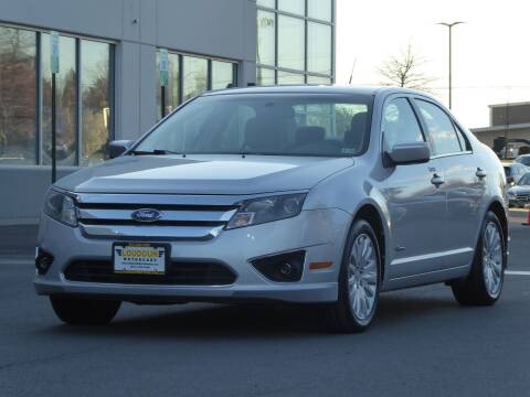 2010 Ford Fusion Hybrid for sale at Loudoun Used Cars - LOUDOUN MOTOR CARS in Chantilly VA
