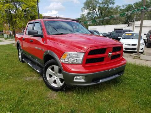 2012 RAM Ram Pickup 1500 for sale at RBM AUTO BROKERS in Alsip IL