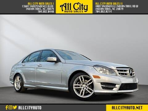 2013 Mercedes-Benz C-Class for sale at All City Auto Sales II in Indian Trail NC
