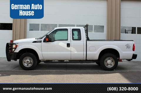 2016 Ford F-250 Super Duty for sale at German Auto House in Fitchburg WI