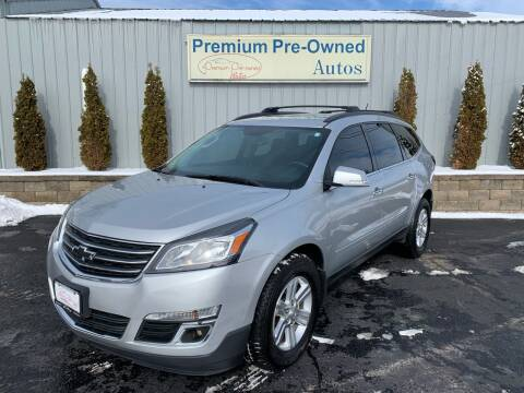 2014 Chevrolet Traverse for sale at PREMIUM PRE-OWNED AUTOS in East Peoria IL